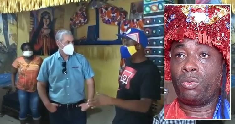 Video: Gonzalo Castillo visita brujo 'Bleo' en San Luis