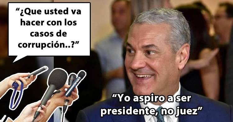 Gonzalo Castillo dice no tolerará la corrupción en su Gobierno