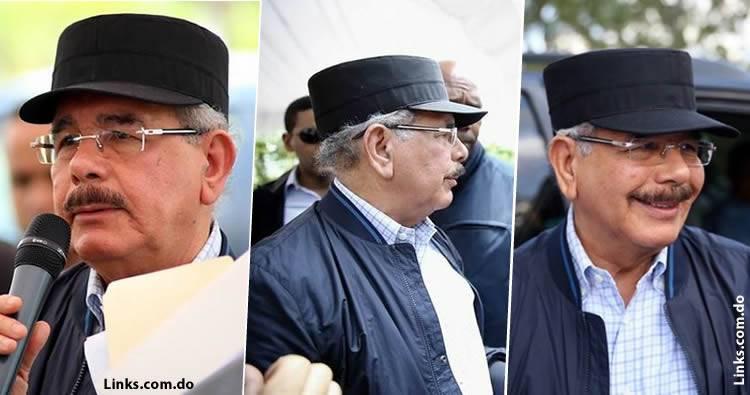 Reacción: califican de 'gorra comunista' la que uso Danilo Medina en visita sorpresa