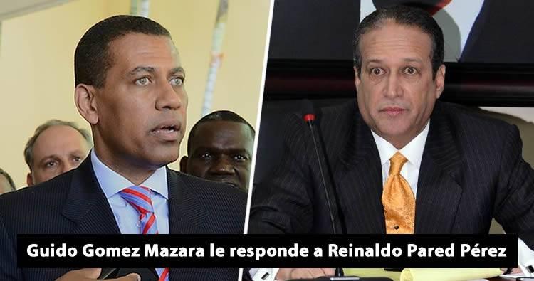 Video: Guido Gomez Mazara le responde a Reinaldo Pared Perez