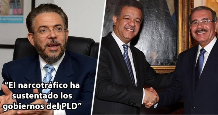 Guillermo Moreno afirma narcotráfico ha sustentado los gobiernos del PLD