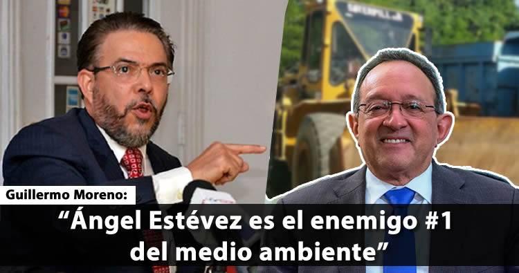 Guillermo Moreno exige destitución de Ángel Estévez de Medio Ambiente
