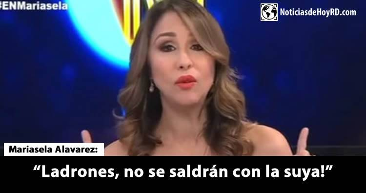 Video: Mariasela Álvarez denuncia le hackearon su cuenta