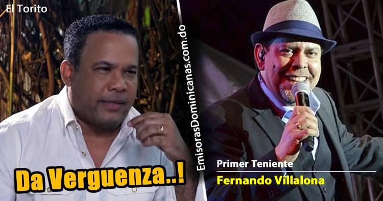 Héctor Acosta: 'da vergüenza que Fernando Villalona sea primer teniente del Ejército'