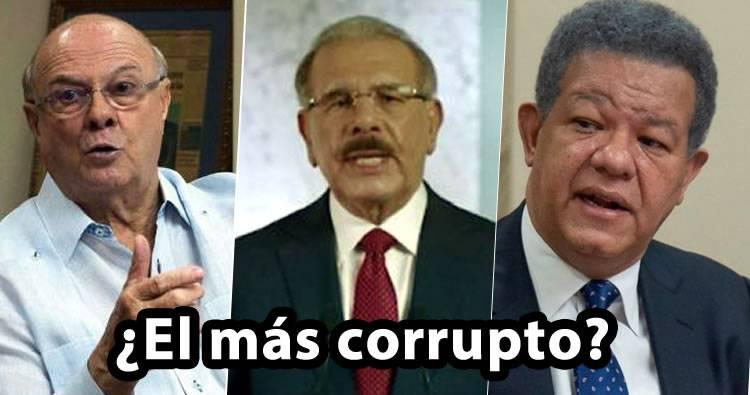 Se viraliza video viejo donde Hipólito Mejía dice cual es más corrupto entre Danilo y Leonel
