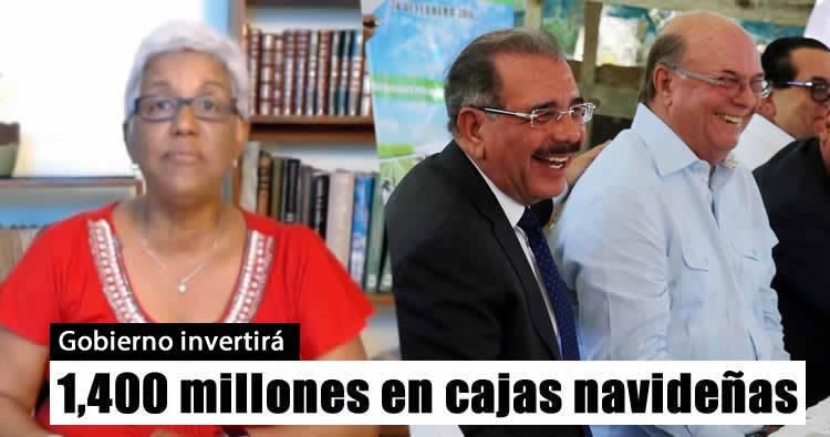 Altagracia Salazar habla de 'los negocios' que tiene Hipólito Mejia con el Gobierno