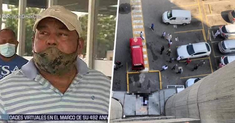 Video: Habla familiar de hombre que se lanzó del decimocuarto piso del Huacal