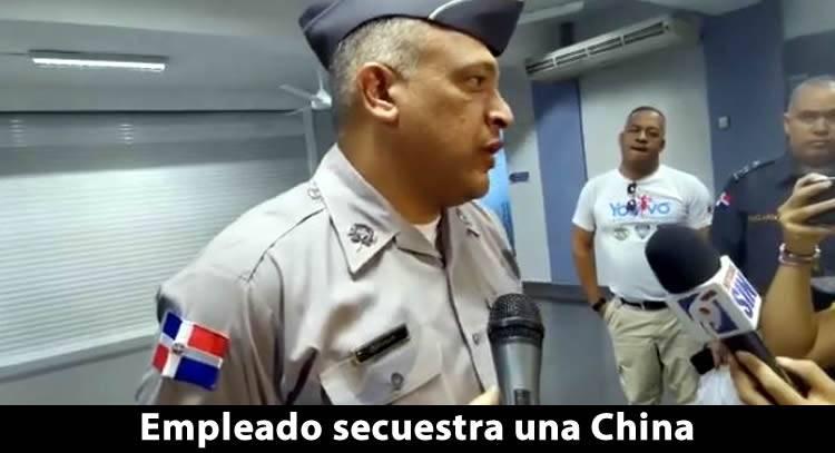 Empleado secuestra mujer de nacionalidad China en una tienda de la Duarte