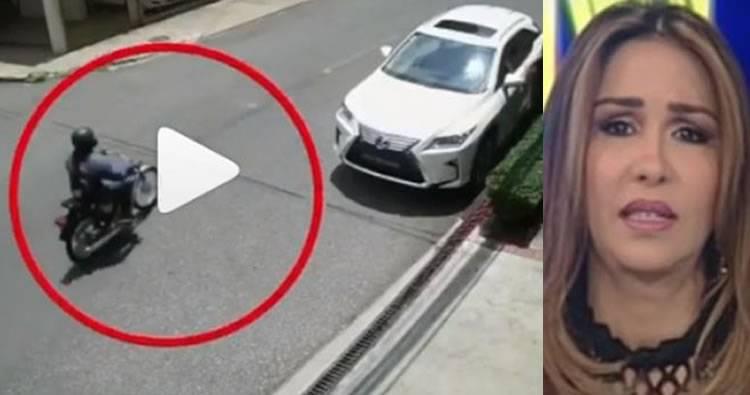 Identifican a delincuentes que atracarón a Mariasela Álvarez y a otras dos personas