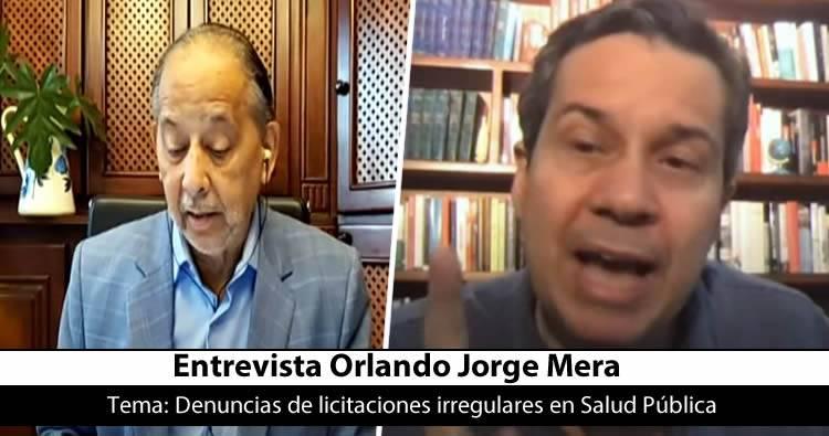 Huchi Lora entrevista aOrlando Jorge Mera