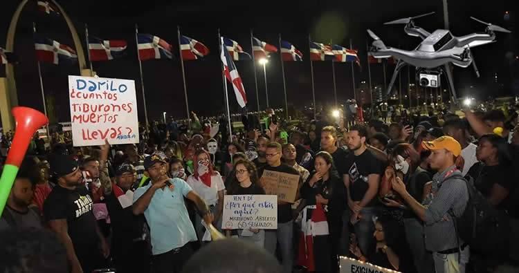 IDAC permitirá uso de drones en protesta Plaza de la Bandera