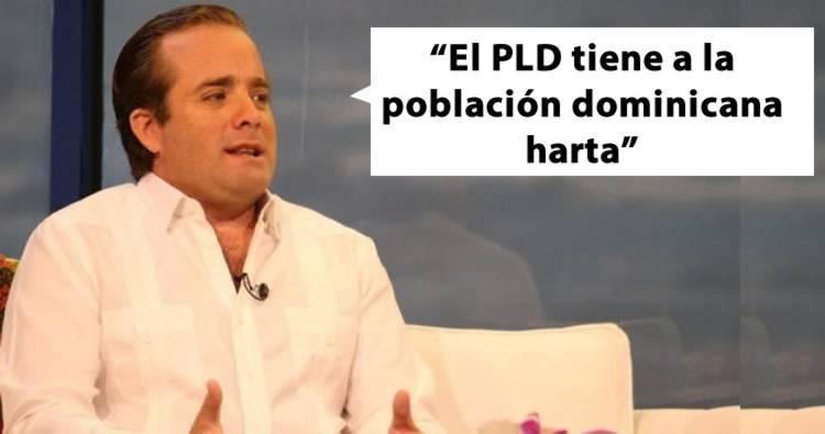 José Ignacio Paliza: 'el PLD tiene a la población dominicana «harta»'