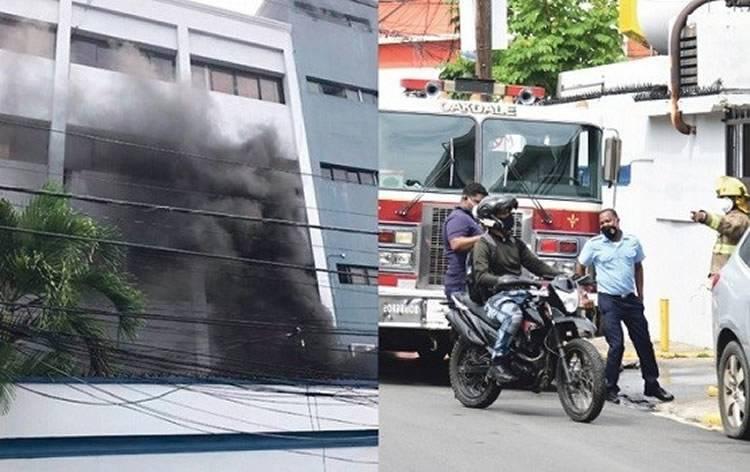 Incendio en Salud Pública llegó a afectar áreas de compras y nóminas