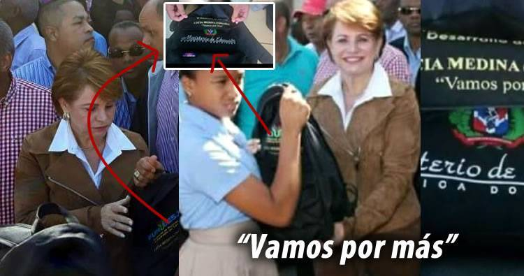 Educación pide investigar veracidad de video sobre las mochilas de Lucia Medina