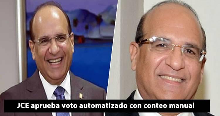 JCE aprueba voto automatizado con conteo manual