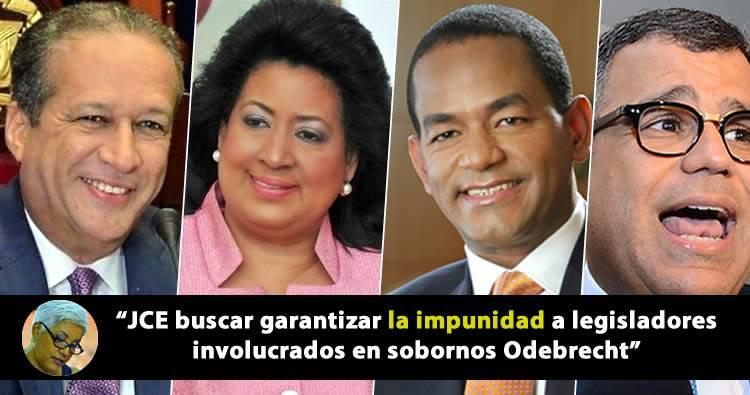 JCE busca garantizar la impunidad a legisladores involucrados en Odebrecht dice Altagracia Salazar