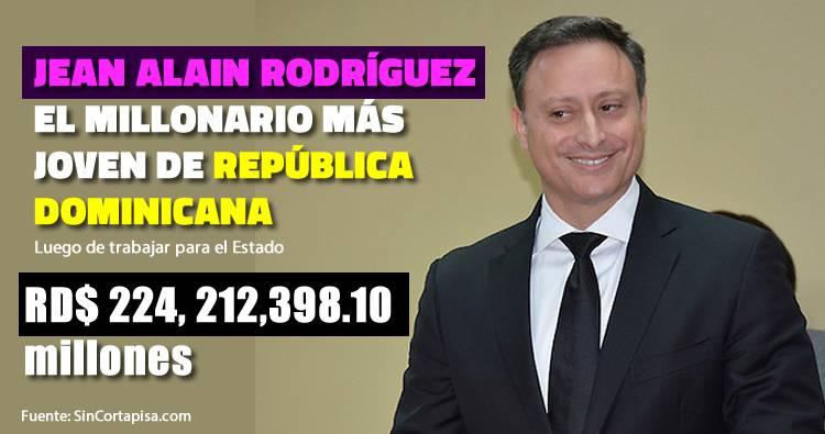 Procurador Jean Alain Rodríguez se convierte en el millonario más joven de la RD luego de trabajar para el Estado