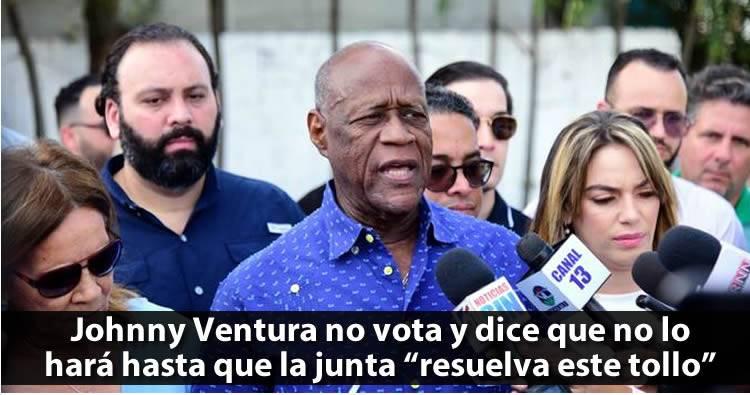 Johnny Ventura dice que va a votar cuando la JCE resuelva el 'tollo'