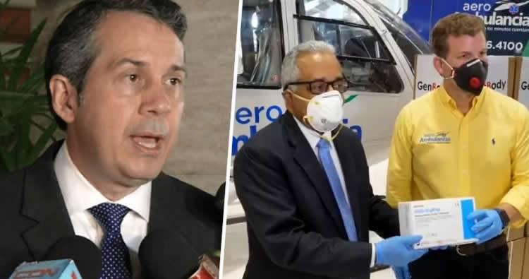 PRM pide al Ministro de Salud «no politizar» la crisis del coronavirus