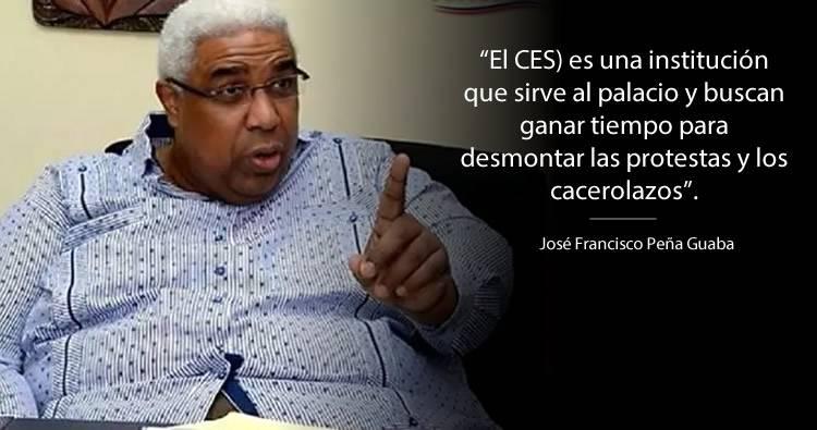 José Francisco Peña Guaba: La mediación del engaño o Gobierno de Coalición
