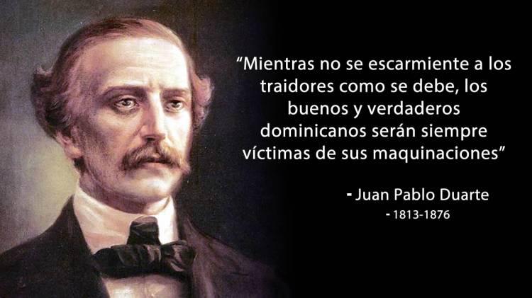 Hoy se conmemora el 207 aniversario del natalicio del patricio Juan Pablo Duarte