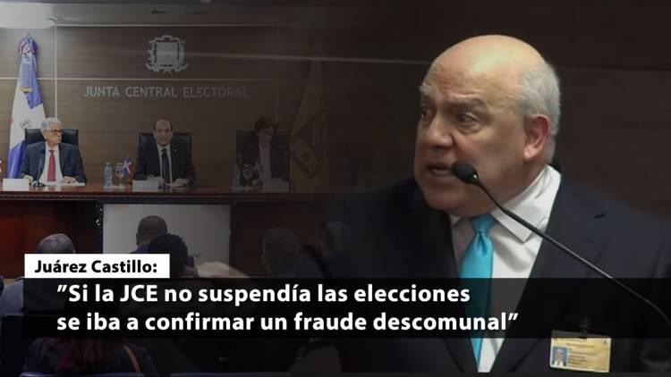 Lo que le dijo Juárez Castillo a los jueces de JCE en la audiencia (video completo)
