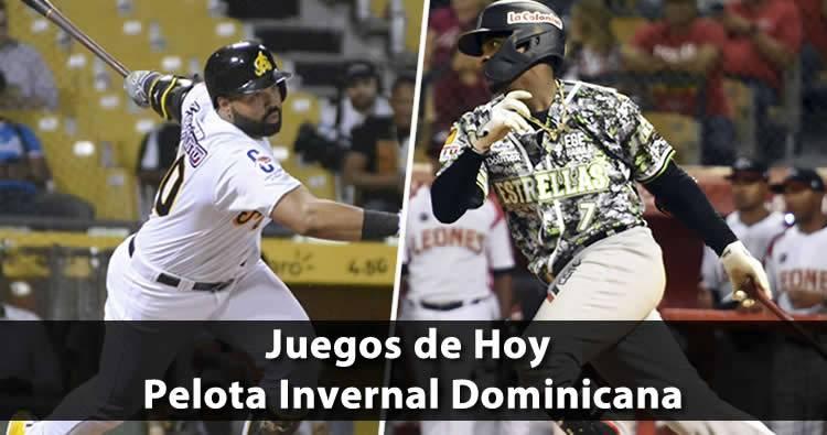 Juegos de pelota de hoy 10/17/19 en | Pelota Invernal Dominicana