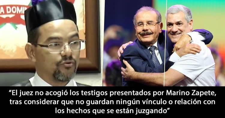 Juez Franny González Castillo rechaza recusación le hiciera defensa de Marino Zapete