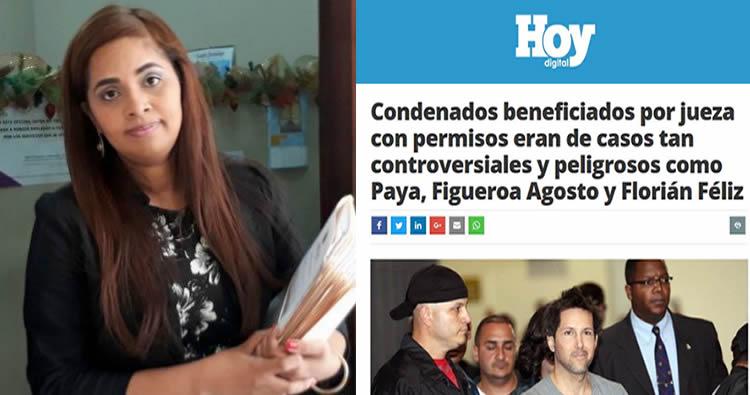 """Jueza que otorgó """"permisos especiales"""" a 57 presos se defiende"""