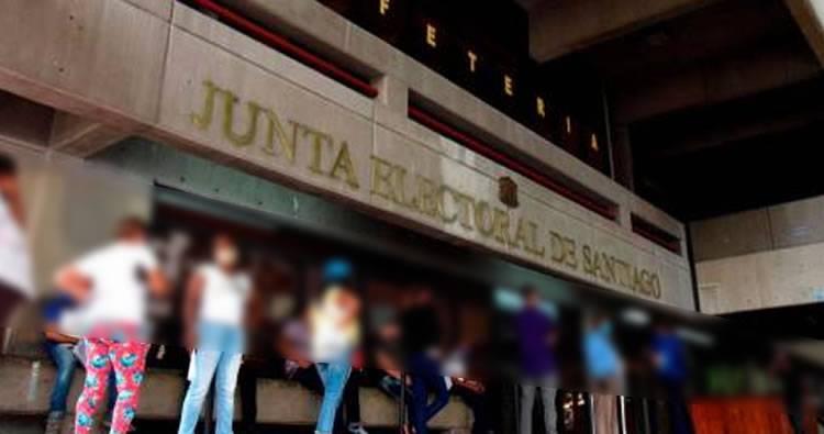 Se entrega seguridad supuesto acusado de robo millonario en Junta Electoral de Santiago