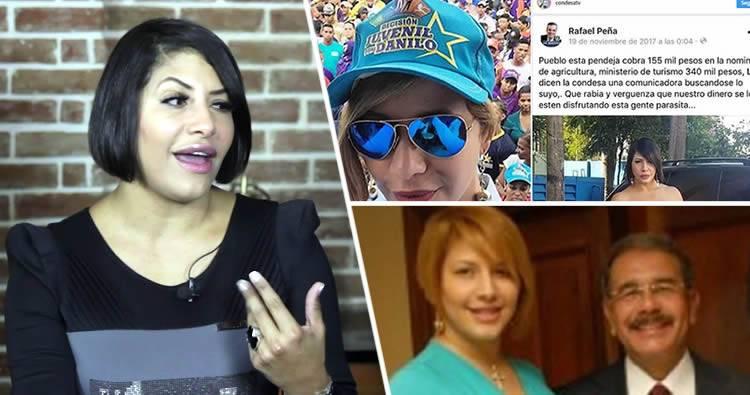 Arisleida Villalona 'La Condesa' dice que salió perdiendo por sus vínculos con el gobierno