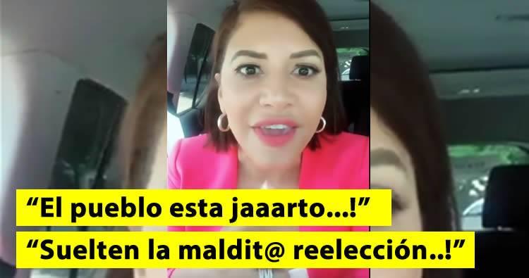 La Condesa arremete contra la reelección de Danilo Medina