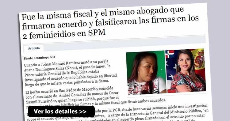 La misma fiscal y el mismo abogado involucrados en feminicidios en SPM