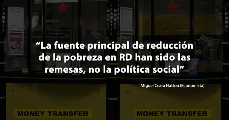 La pobreza se ha reducido en RD por las remesas, NO por Danilo y sus medidas económicas