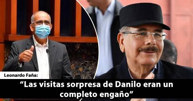'Las visitas sorpresa de Danilo eran un completo engaño', según Leonardo Faña