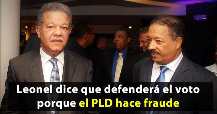 Leonel Fernández responde al PLD que ellos son quienes hacen fraudes