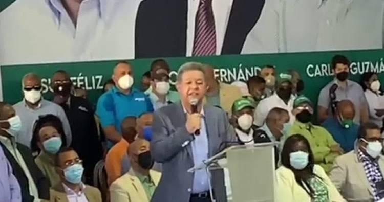 Leonel Fernández:«El PLD ha perdido hasta el respeto del pueblo dominicano»