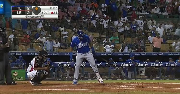 Video: Jorge Bonifacio decide triunfo del Licey 29/11/2019
