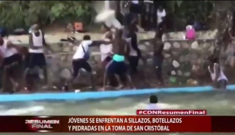 Video: El Lío que se armó en la Toma, San Cristóbal