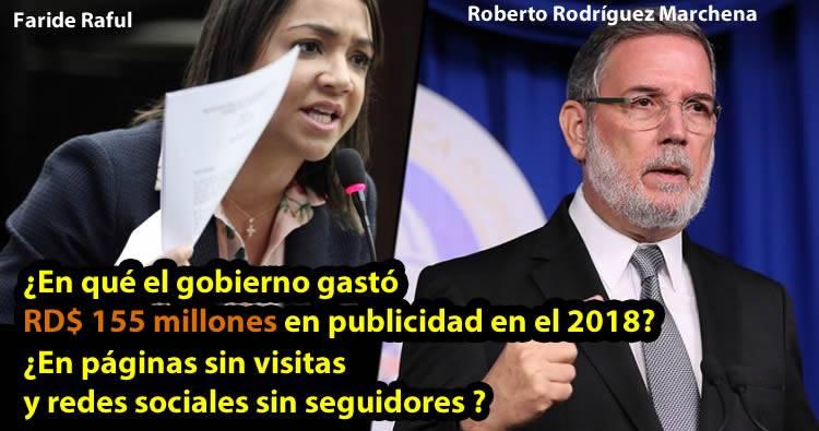 Faride Raful: 'Roberto Rodríguez Marchena tendrá que enfrentar a la justicia'