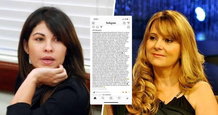 Sobeida Félix arremete contra Nuria Piera a través de Instagram