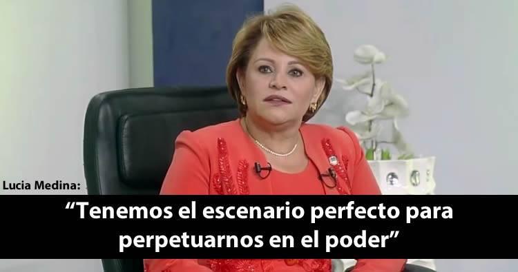 Video: Lucia Medina: 'Tenemos el escenario perfecto para perpetuarnos en el poder'