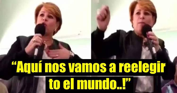 Lucia Medina: 'Aquí nos vamos a reelegir to' el mundo, no es Danilo nada más'