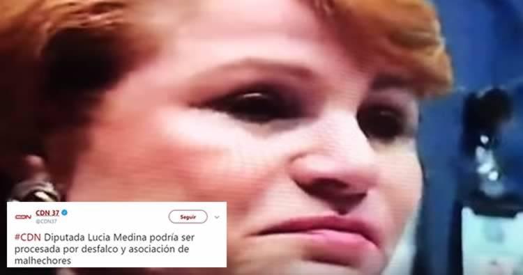 Lucia Medina podría ser procesada por desfalco y asociación de malhechores (CDN)