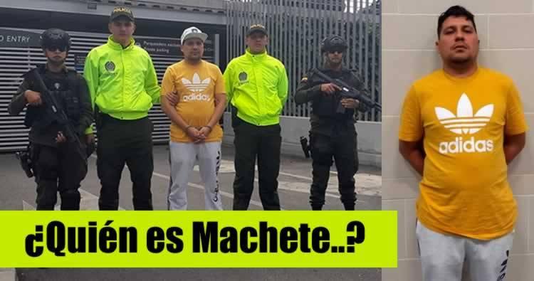 ¿Quién es 'Machete', el colombiano capturado en RD? (Listín Diario)