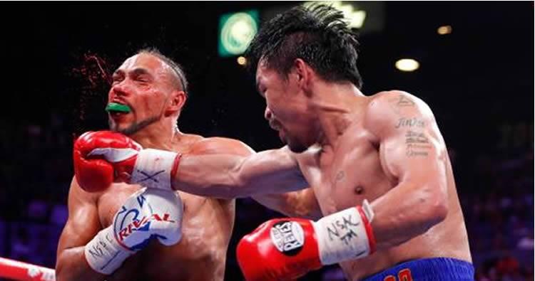 Manny Pacquiao gana por decisión a Keith Thurman