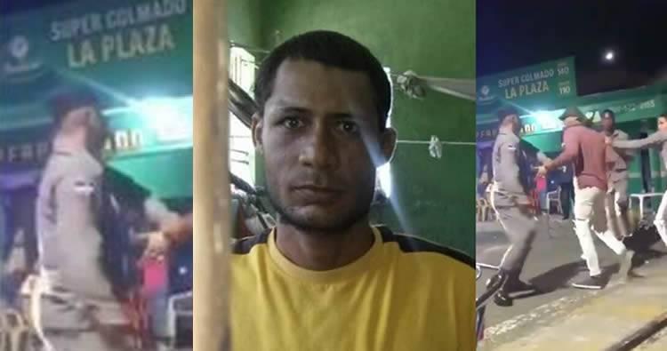 Hombre golpeado por policías había agredido e intentado violar una anciana según El Nuevo Diario