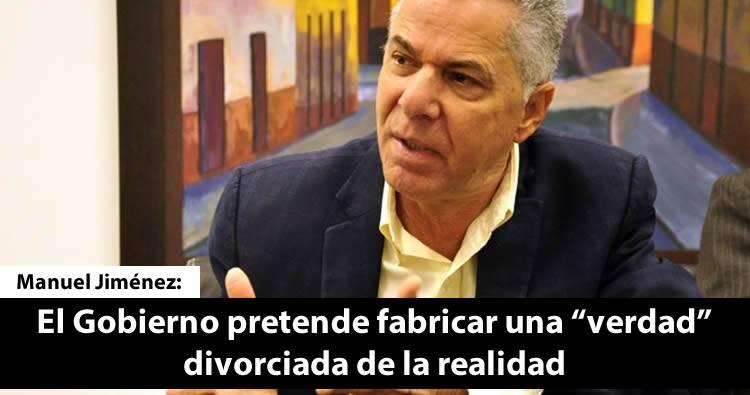 Manuel Jiménez dice gobierno pretende buscar a quien echarle la culpa por sabotaje Elecciones