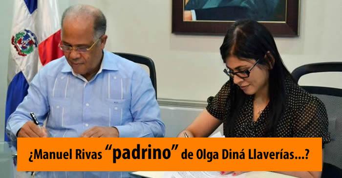 Manuel Rivas fue el padrino de graduación de Olga Diná según Ramón Colombo
