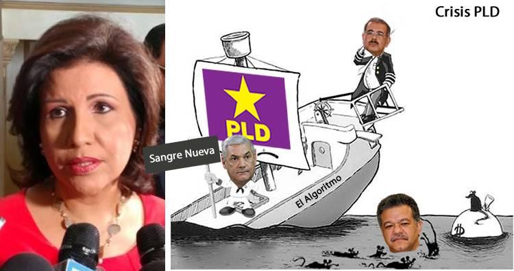 Margarita Cedeño dice reflexiona crisis PLD